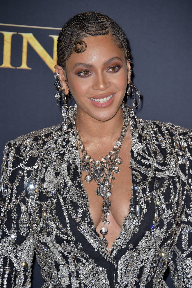 Beyoncé attending The Lion King 2019 World Premiere