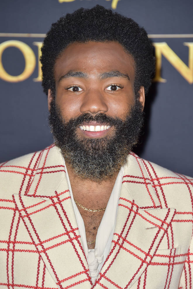 Donald Glover at The Lion King World Premiere