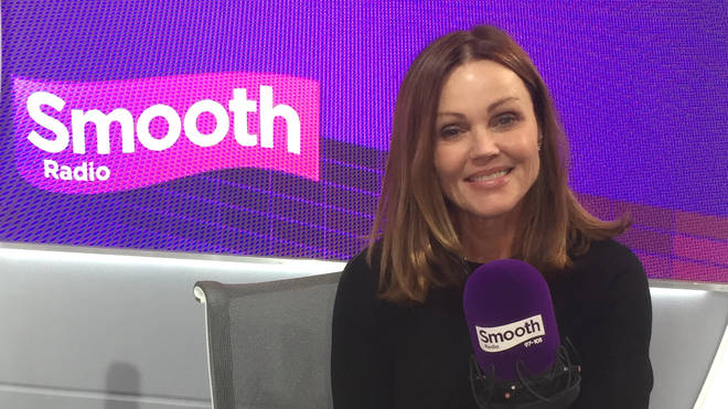 Belinda Carlisle in the Smooth Radio studio