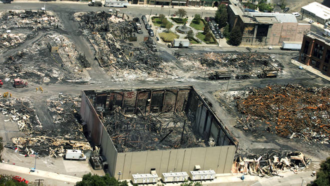 The Universal Studios fire in 2008 destroyed Belinda Carlisle's work