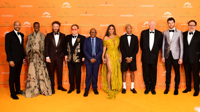 The Lion King 2019 European Premiere