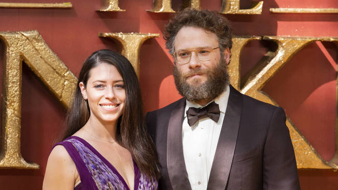 The Lion King 2019: Seth Rogen and Lauren Miller