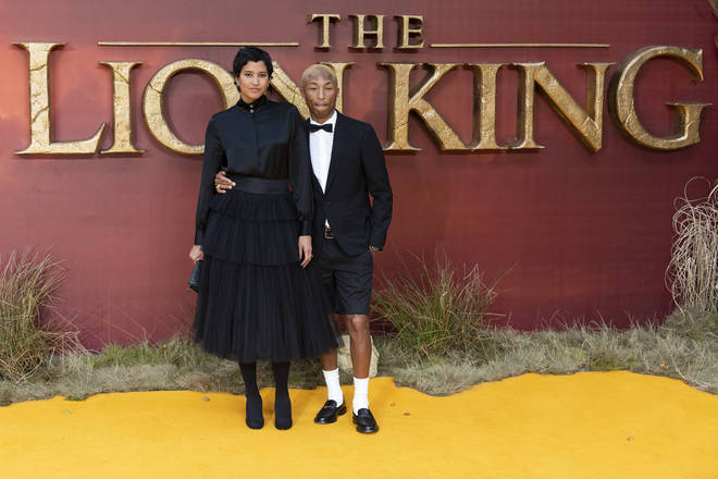 The Lion King 2019: Helen Lasichanh and Pharrell Williams