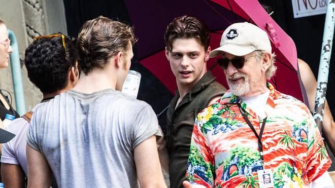 Steven Spielberg directing West Side Story