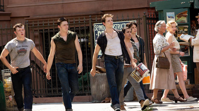 West Side Story filming