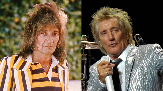 Rod Stewart FaceApp