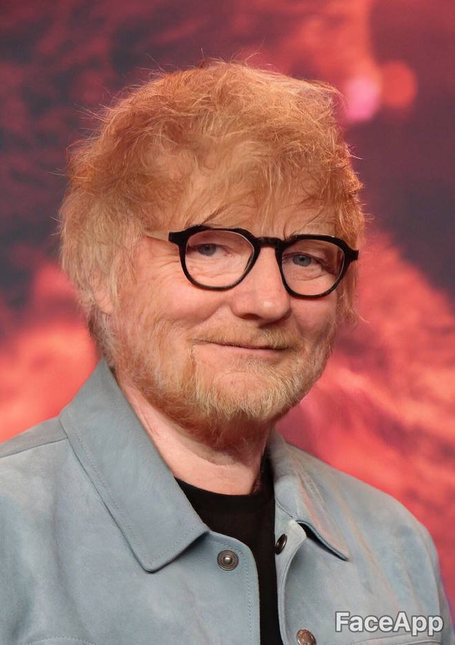 Ed Sheeran FaceApp