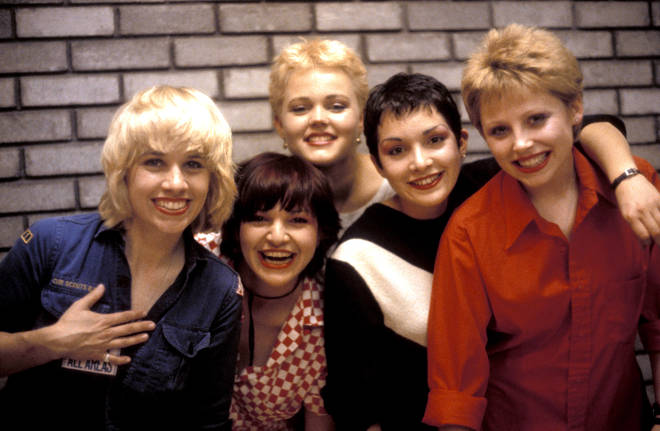 The Go-Go's in 1980