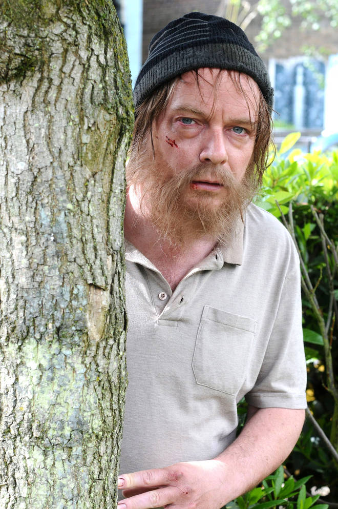 Adam Woodyatt as Ian Beale in EastEnders during one of the character's tough spells