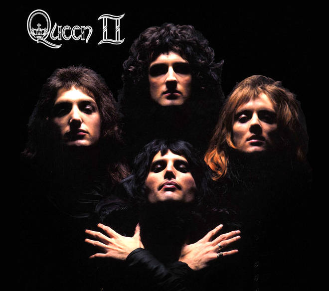 Queen's iconic Bohemian Rhapsody video was based on their Queen II album cover