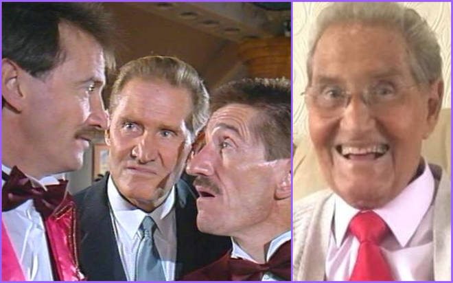 Chuckle Brother Jimmy Patton has died aged 87 - one year after Barry Chuckle