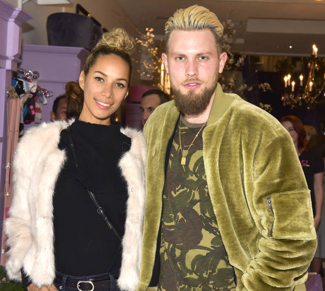 Leona Lewis with husband Dennis Jauch