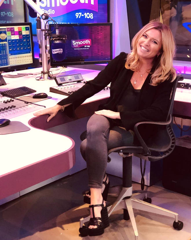 Tina Hobley's audience has grown by 45,000 listeners