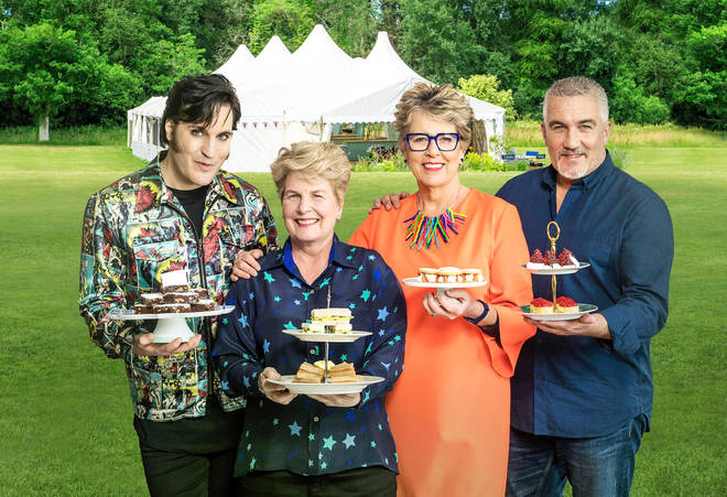 The Great British Bake Off 2019: Noel Fielding, Sandi Toksvig, Prue Leith and Paul Hollywood
