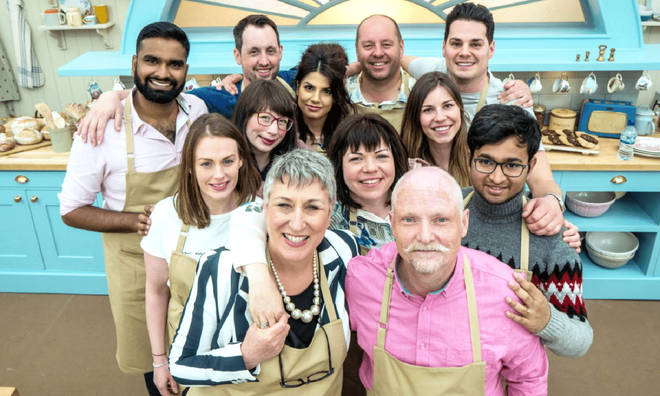 The Great British Bake Off contestants from the 2018 series