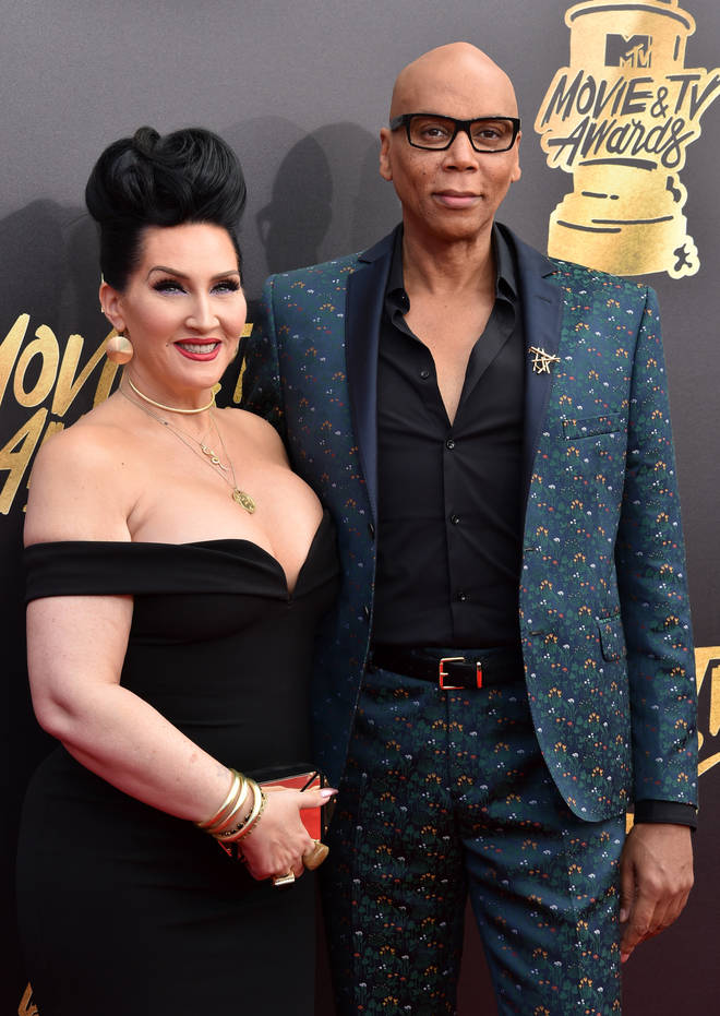Michelle Visage with RuPaul in 2017