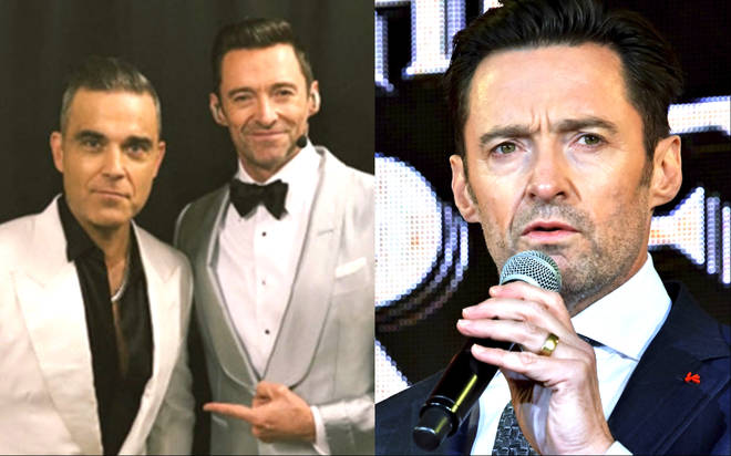 Hugh Jackman's team deny Robbie Williams has joined The Greatest Showman 2 cast