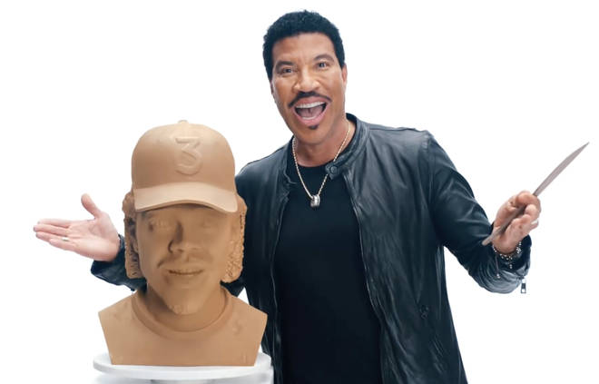 Lionel Richie brings back 'Hello' clay head in hilarious new Doritos advert