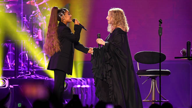 Barbra Streisand teamed up with Ariana Grande in Chicago