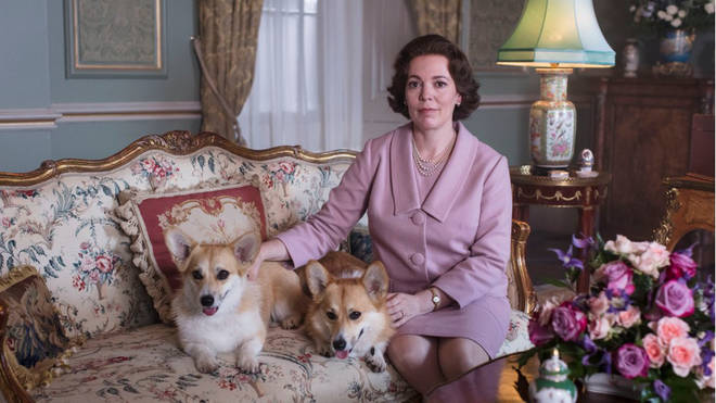 Olivia Colman as Queen Elizabeth II in The Crown season 3