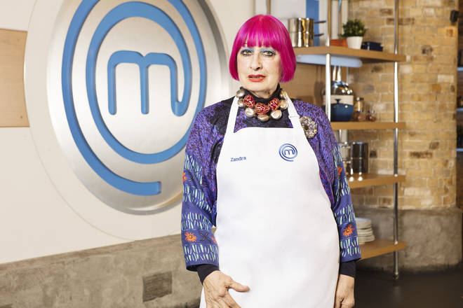 Who is Zandra Rhodes? Celebrity MasterChef 2019 contestant and fashion designer