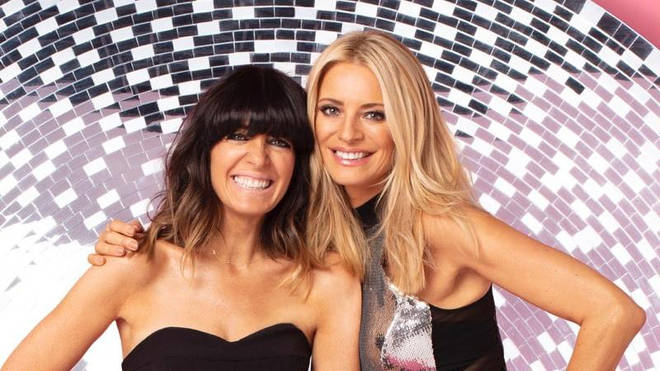 Tess and Claudia on Strictly Come Dancing