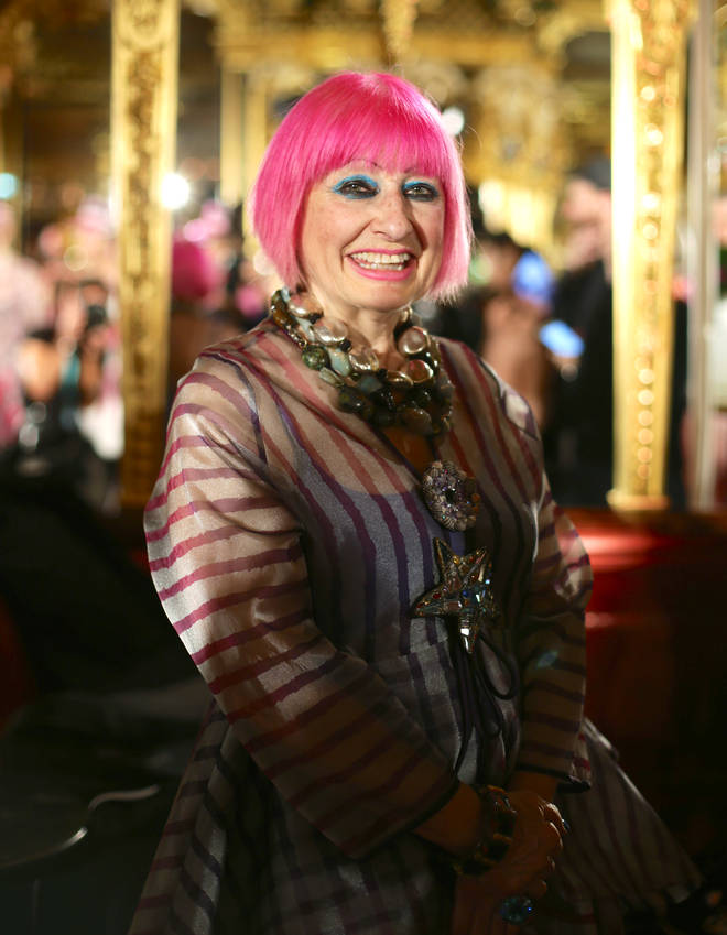 Zandra Rhodes will take part in Celebrity MasterChef 2019