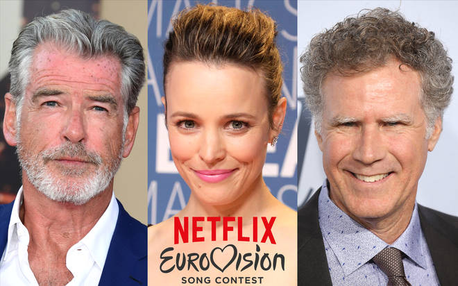 Pierce Brosnan, Rachel McAdams and Will Ferrell will star in the new film