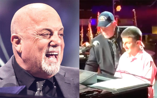 Billy Joel plays piano with blind teenage piano prodigy in heartwarming video