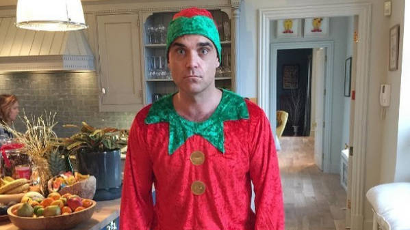 Robbie Williams teases new music: Is he recording a Christmas album? - Smooth