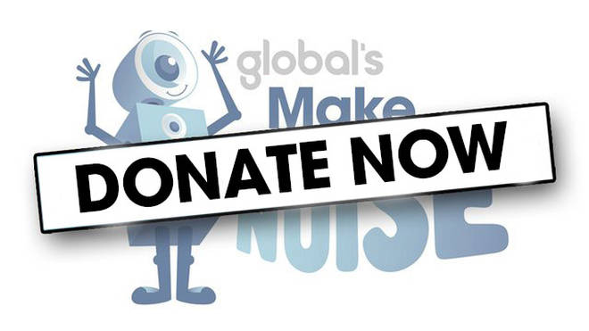 Donate money to Global's Make Some Noise