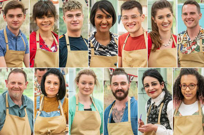 The Great British Bake Off series 10 cast: Meet the contestants