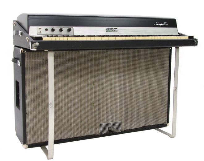 The Fender Rhodes electric piano used by Eric Stewart and Sir Paul McCartney