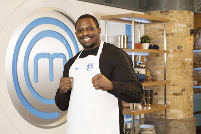 Celebrity MasterChef 2019: Dillian Whyte