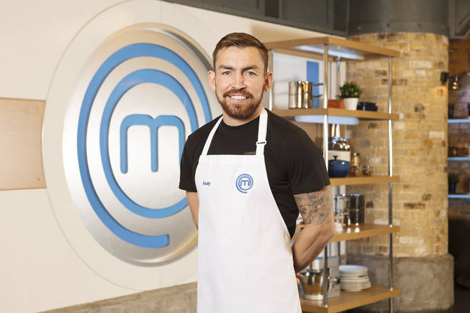 Celebrity MasterChef 2019: Andy Grant