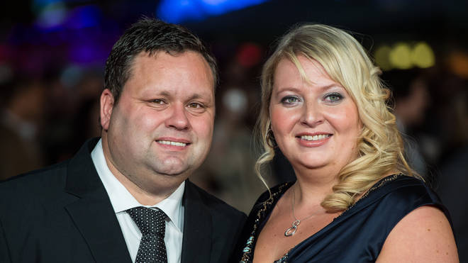 Paul Potts and wife Julie-Ann