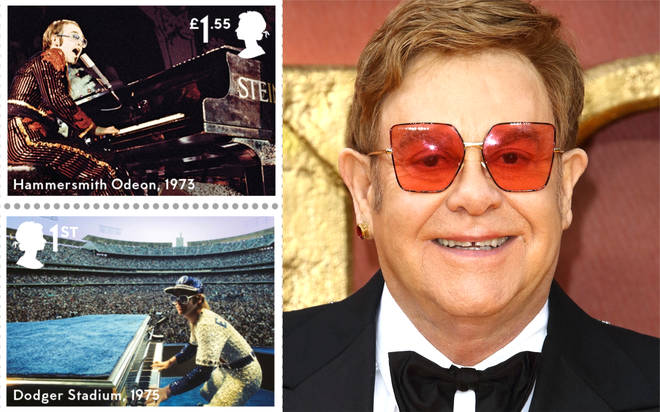 Elton John receives new honour with his own Royal Mail stamp collection