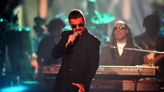 George Michael performing at the VH1 Honors in 1997, the same year he came to see Rob perform