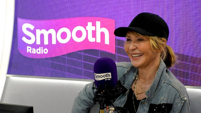 Lulu in the Smooth Radio studio