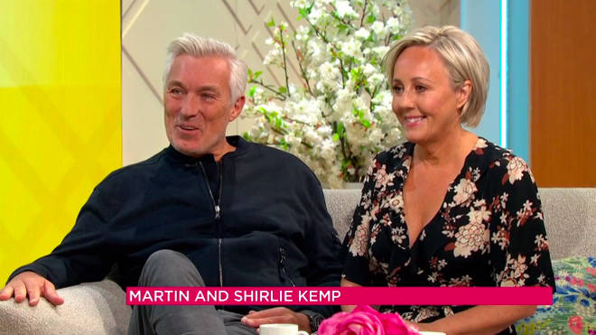 Martin and Shirlie Kemp have announced a joint swing album