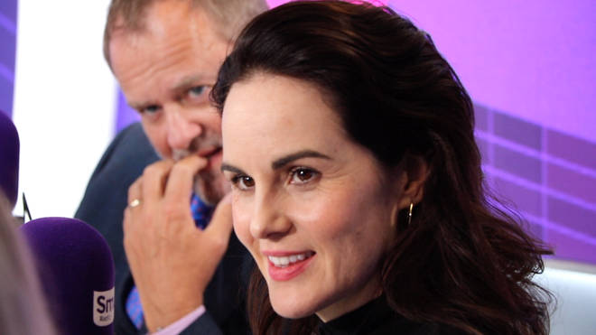 Downton Abbey film: Michelle Dockery in the Smooth Radio studio