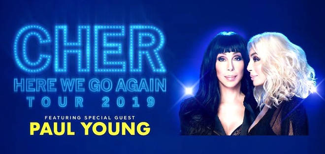 Paul Young to join Cher on UK tour