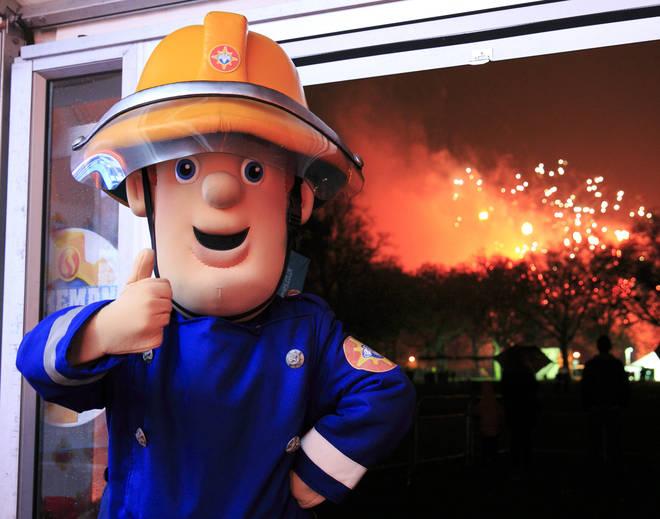 Lincolnshire Fire and Rescue Service ban Fireman Sam