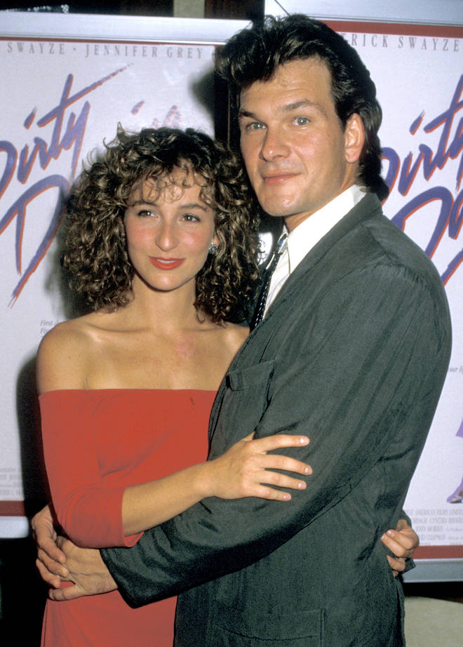 Dirty DancingActors Jennifer Grey and Patrick Swayze attend the premiere of 'Dirty Dancing' in 1987