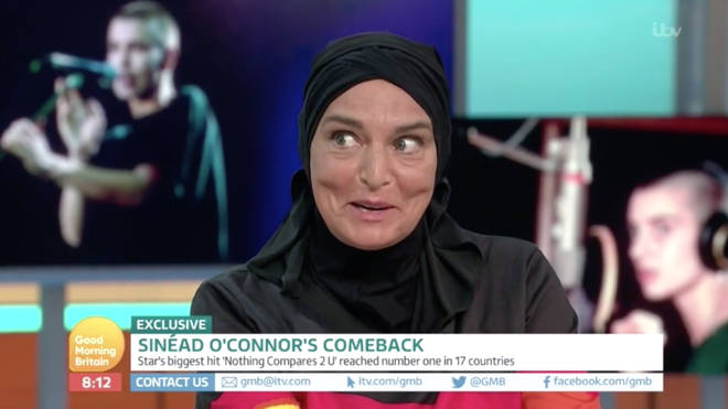 Sinead O'Connor on Good Morning Britain