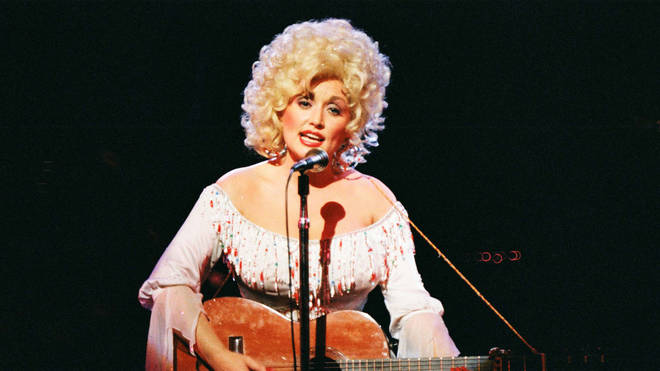 Dolly Parton Performs At The Dominion Theatre in London