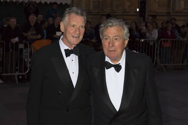 Friends Sir Michael Palin and Terry Jones