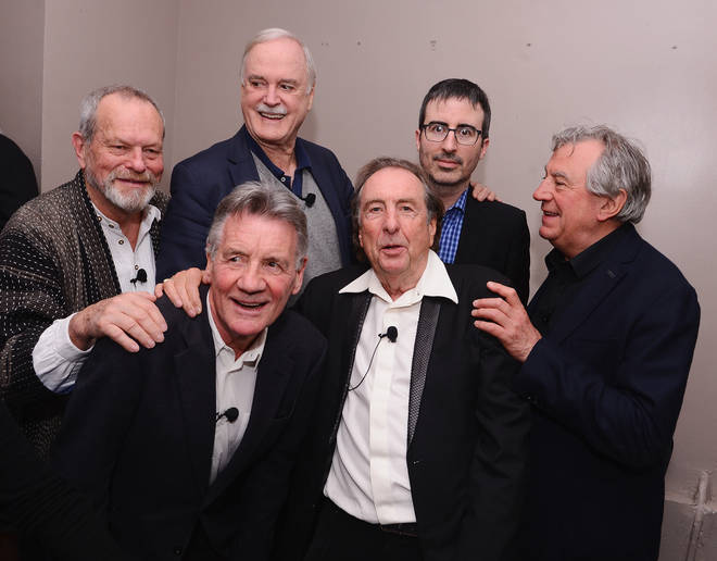 The Monty Python co-stars