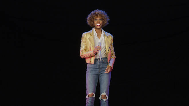 Whitney Houston hologram