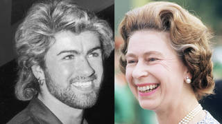 George Michael's ex-manager recalls how the Careless Whisper singer and The Queen met at a polo match in 1985.